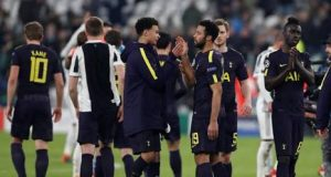 Tottenham draw with Juventus in Turin