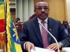 Prime Minister of Ethiopia, Hailemariam Desalegn,