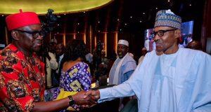Gov. Fayose with President Buhari