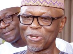 APC National Chairman, John Oyegun