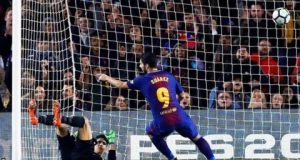 Suarez hits hat-trick against Giroma