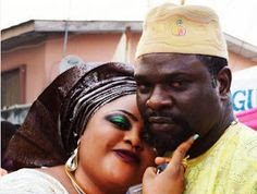 Olawale with his wife