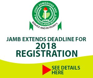 JAMB reg extension