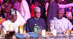 Buhari attends a Gala Nite in Lagos