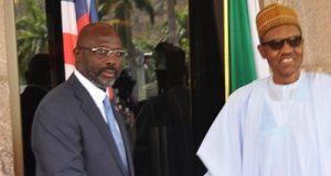 Liberia' Weah and President Buhari