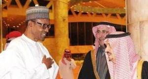 President Buhari with King Salman of Saudi