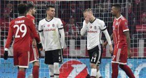 Bayern beat Beskta to hit Champions League last 8