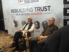 Prof. Wole Soyinka and Peter Obi