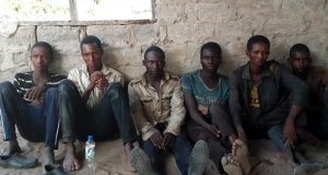 Arrested herdsmen