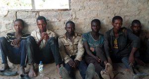 Arrested herdsmen