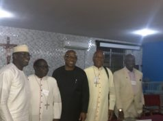 Obi and others at the Conference organized by Kukah centre and Yale University