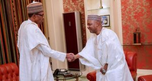 President Buhari and Nnamadi Sambo
