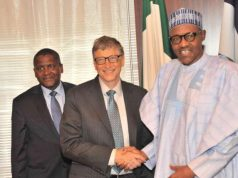 Dangote, Gates and President Buhari