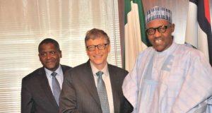 Dangote, Gates and President Buhari