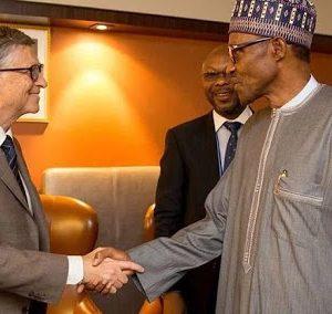 Bill Gates and President Buhari