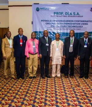 The research team led by Prof. Ola