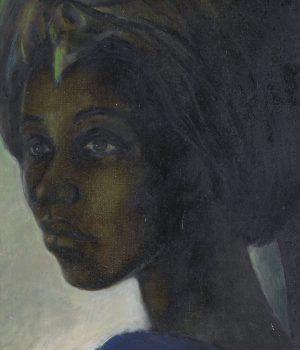 A portrait of a Nigerian princess, Tutu