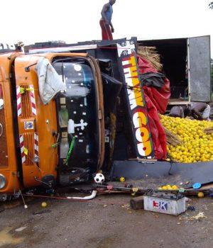 Accident truck