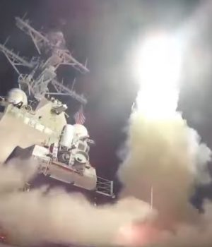 U.S-led coalition air strike against Syria