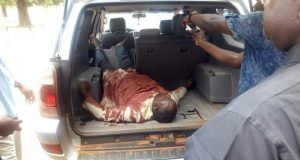 One of the victims of Wednesday's attack in Benue