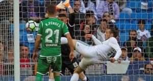 Bale hooked Real Madrid's opener inside the opening 10 minutes