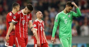 Bayern Munich have not reached a Champions League final since winning the competition since 2013