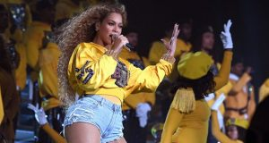 Beyonce at Coachella Valley Music and Arts Festival