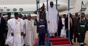 President Buhari in Bauchi