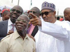 Oshiomhole and President Buhari