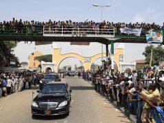 Buhari in Bauchi