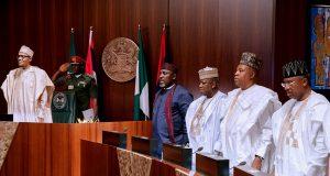 Buhari meets APC Govs