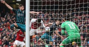 Danny Welbeck puts two behind Southampton keeper