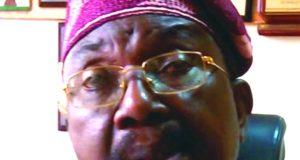 Sen. Olabiyi Durojaiye, NCC-chairman