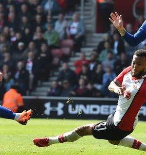Eden Hazard drew Chelsea level at Southampton with his 16th goal of the season