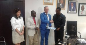 Ladi Lawanson receives German Consul-General in Nigeria, Ingo Herbert and his team