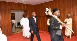 Mace, symbol of National Assembly authority