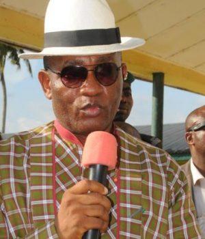 Rear Admiral Gboribiogha John Jonah, Bayelsa Deputy Governor,