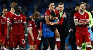 Liverpool were 5-1 aggregate winners over Manchester City in the quarter-finals