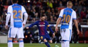 Messi hat-trick against Leganes