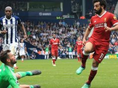 Mohamed-Salah scored Liverpool's second goal
