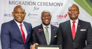 Elumelu, Onyema and UBA'S Kennedy Uzoka