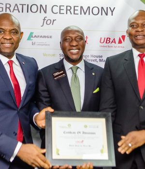 Elumelu, Onyema and UBA'S Kennedy Uzoka