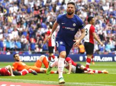 Olivier Giroud waltzes his way through Southampton's defence