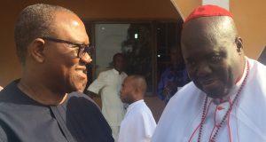 Peter Obi and Methodist Archbishop, Umuahia, His Grace Dr. Raphael Opoko