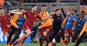Roma became only the third team in Champions League history to overturn a deficit of three goals or more
