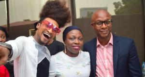 L-R: TV host, Denrele Edun; Change-A-Life Chief Operating Officer, Sekinah Ayeyemi, and Head, Digital Marketing, First Bank of Nigeria Limited, Yinka Ijabiyi