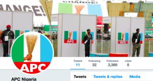 New APC Twitter account