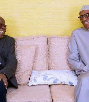 Tinubu and Buhari in London