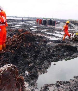 Oil spill in Ogoniland