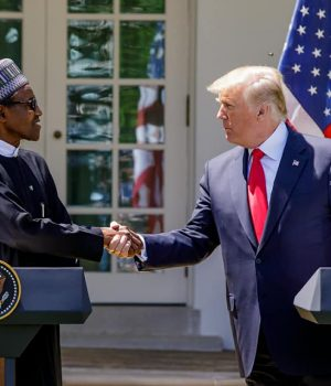U.S President Trump and President Buhari
